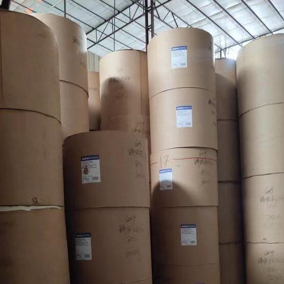 Fábrica branco costumes Papel de tecido barato