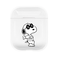 Puppy Snoopy For Apple Airpods Case Accessories TPU Transparent Protective Silicone Skin Cover Case