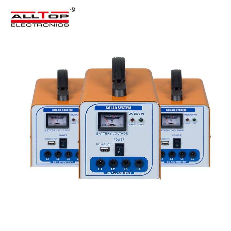 ALLTOP солнечной зарядки 30 Вт Солнечная система для дома панели солнечных батарей система кровельные монтажные системы солнечной энергии