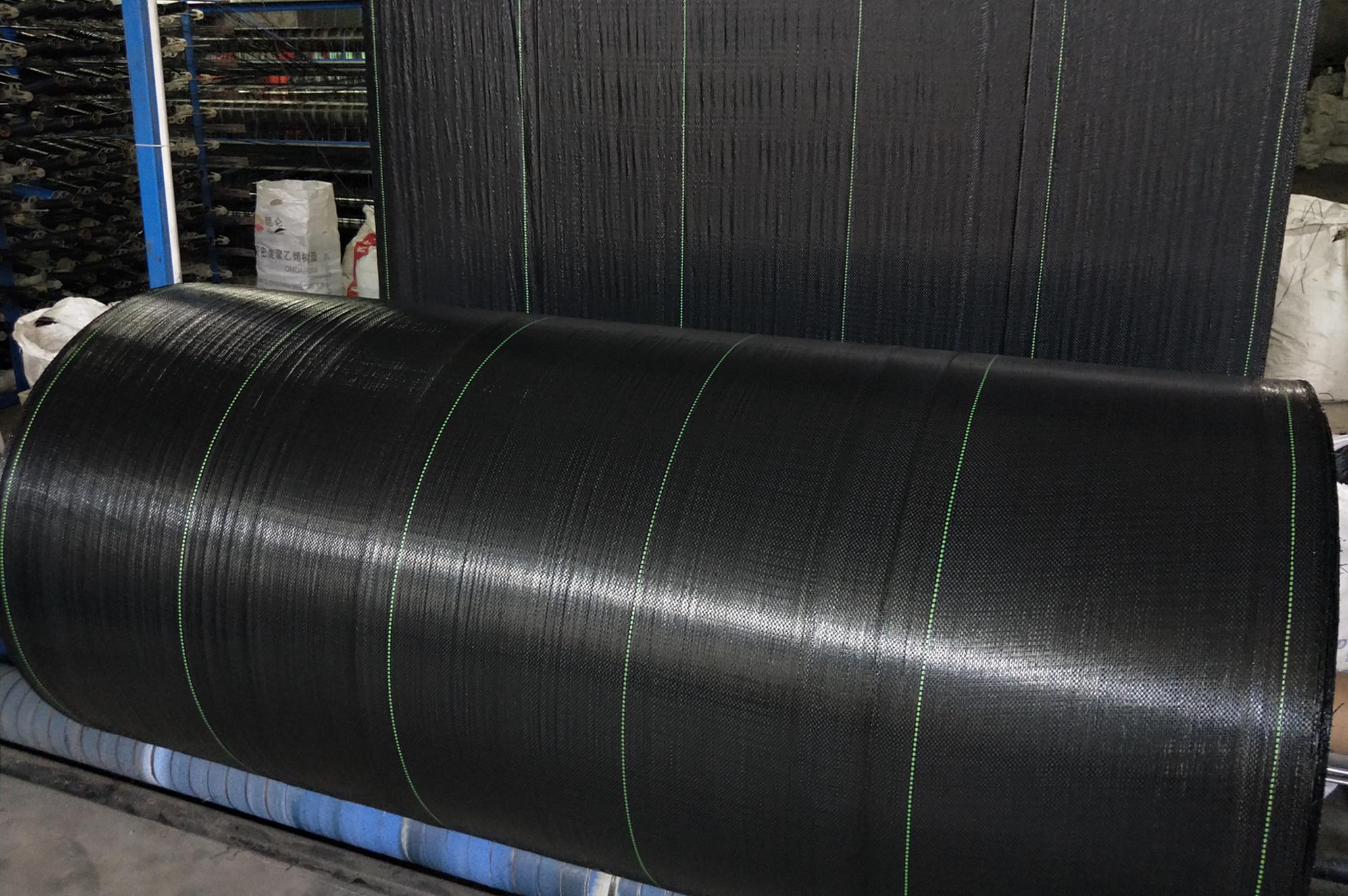 أخضر/أسود يغطي الأرض/Agrotextile أغطية الأرض قماش للتحكم بالأعشاب الضارة المنسوجة النسيج