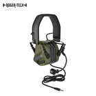 Roger tech Evo 409 Tactical noise cancelling wireless headphones bluetooth headset
