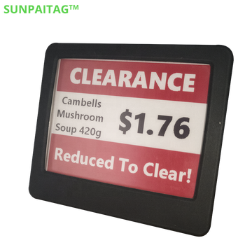 SUNPAITG 4.2 inch E ink Screen Wireless Supermarket Shelf Digital Label Electronic Price Tag