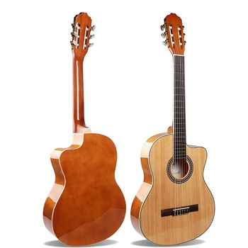 VT-C40-39 Best Price Vitesse Classical Guitar 39 Inch Cutaway For Sale Manufacturer