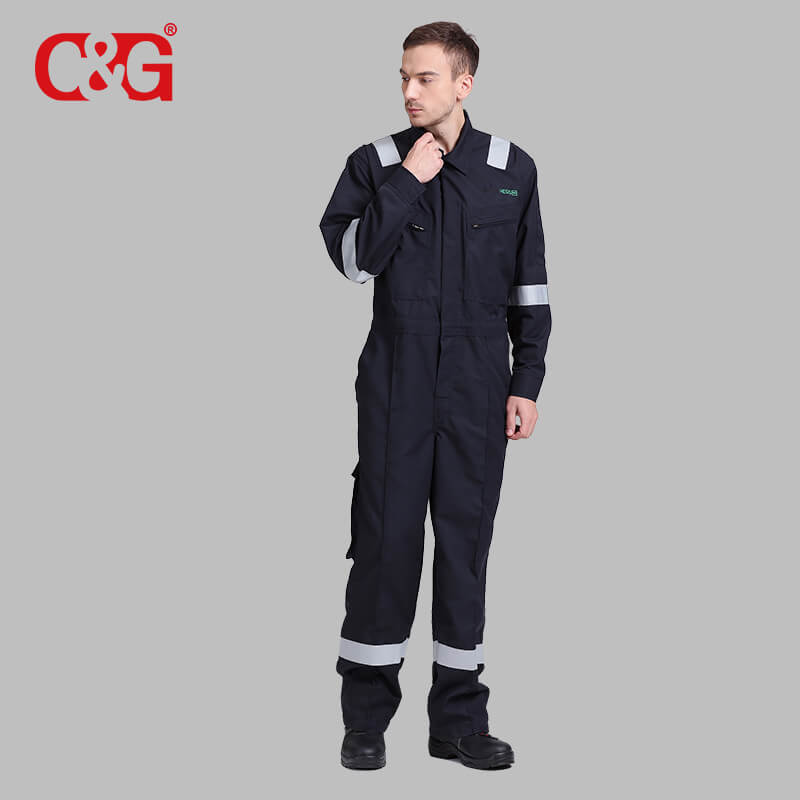 Nomex fire resistant flame retardant coveralls suit for safety clothing