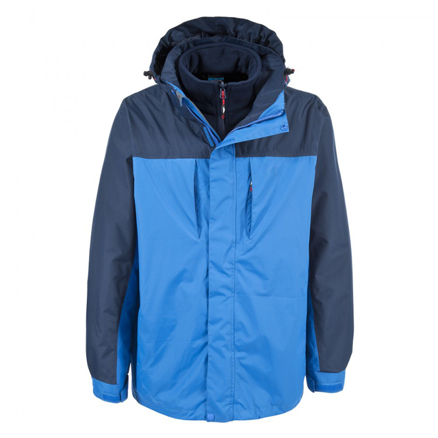 Men's 3 in 1 Waterproof Jacket Winter Windproof Coat Outdoor Sports Jacket