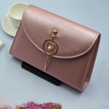 2019 Factory Clutch Evening Bag Brand New PU leather Stylish Party Ladies Brown Amazon Glitter Pink Clutch Bag Evening