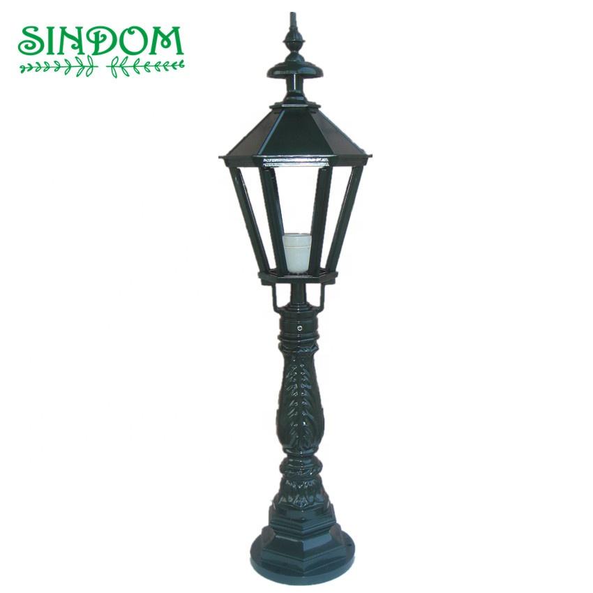 European garden pole light yard lawn light bollard for hotel park home