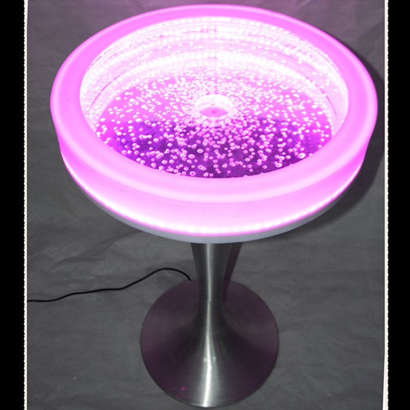 Cool <strong>Bar</strong>/club/party/wedding/KTV/hotel Night Club lighting illuminated led round glowing <strong>bar</strong> table design