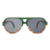 China eco-friendly red green dioptric wooden polarized sunglasses supplier