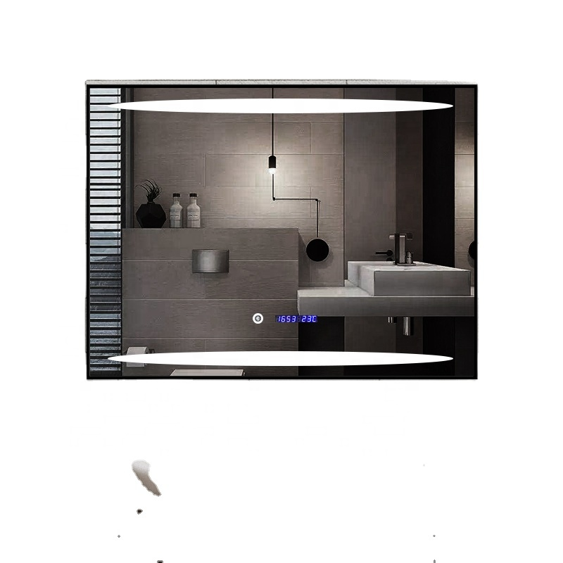 Manufacturer custom sensor touch screen led light bathroom mirror
