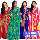 Plus size Ethnic new Fashion Women Maxi print long dress, high quality Summer Beach Chiffon Party Dress