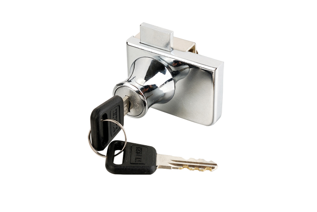 D20*L20 Zinc alloy Cylinder glass door lock cabinet lock furniture lock  with master key