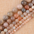 Real Natural Sun Stone Beads for Jewelry Making