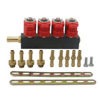 Adjustable silent running auto cng fuel injector