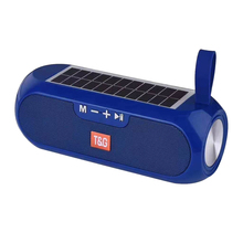 2020 New arrival speaker energia Solar <span class=keywords><strong>power</strong></span> supply TWS TG182 multi funcional sem fio speaker TF AUX USB speaker jogue