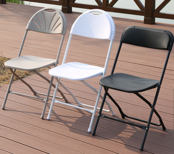 2020 New Collection Plastic  PP folding chair