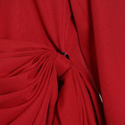 Ladies Dresses Ladies A4066 2020 New Arrivals Red Black Ruched Asymmetric Ladies Fashion Dresses