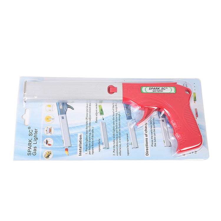 Kitchen Accessories Tools Creative China Manufacturer Customize Spark Branded Gas Gun Lighter Replaceable