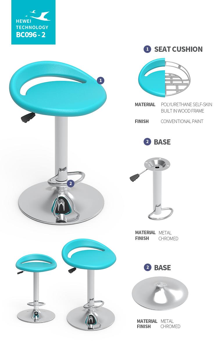 Kommerziellen Möbel Praktische PU Bar Stuhl bartools hohe bar stuhl Fabrik