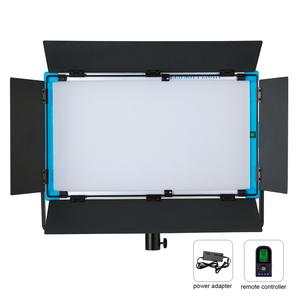2019 Hot Sales Yidoblo A-2200BI Soft panel Light bi-color cold warm video film photographic shooting 100 w DMX