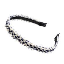 Женская твидовая повязка на голову AWAYTR, широкая тканевая повязка на голову, тюрбан для девушек, модный ободок для волос, 2020(Китай)