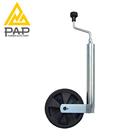 trailer jack with single 6 inch wheel