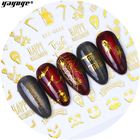 Korean 2019For Girls Halloween Design Flame Drip Lip Nail Stickers For Nails Girls