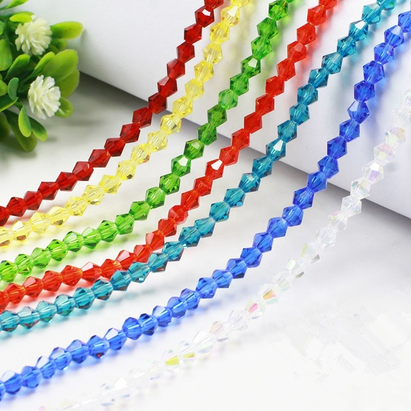 Hot Sale Bicone Crystal Beads