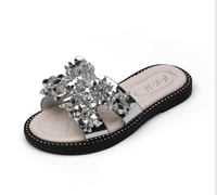 Factory wholesale water brick spring and summer princess shoes girl sandals