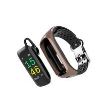 Fitness tracker und Bluetooth headset 2-in-1 smart anruf mit multi-funktion headset armband