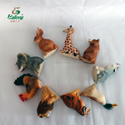Ready to ship handmade 6cm rustic souvenir gift cute wood carving animals