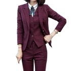 2019 new style 3 piece suit women blazer suit jacket office lady OEM design business wholesale