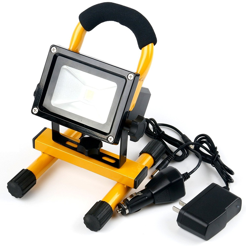 Groothandel 10 uur lange tijd verlichting 50W Draagbare high power Outdoor 5000 lumen Emergency Auto led flood work light