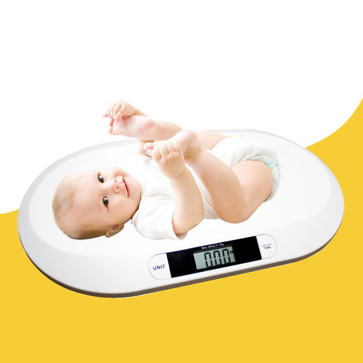 Multi-function digital lcd display of intelligent boys girls electronic scales growth weighing health scale