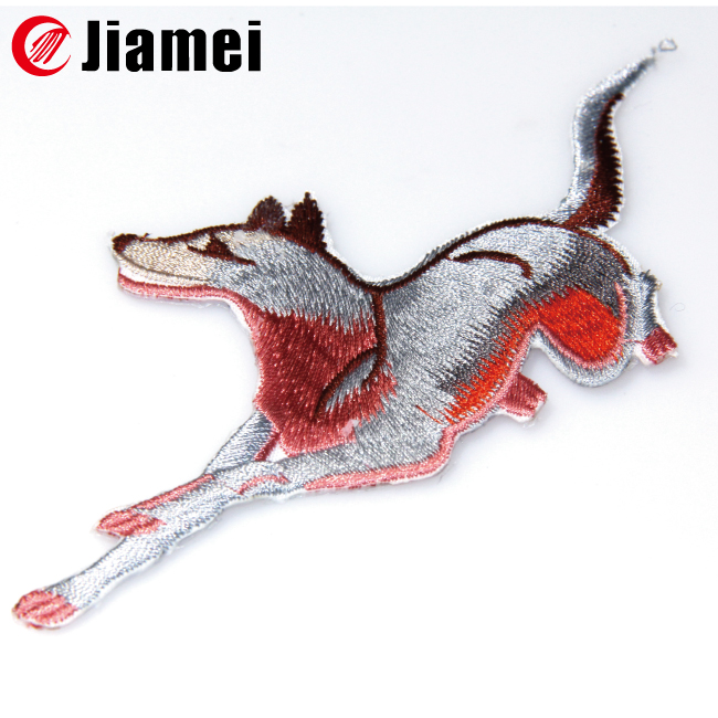 Felt embroidery patch badge animal horse applique