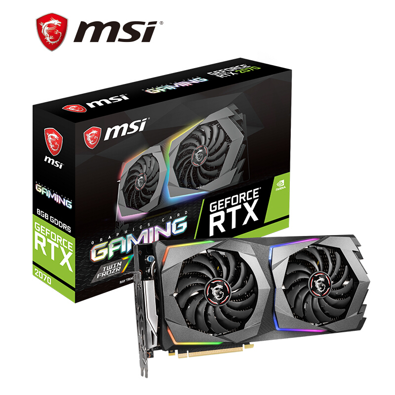 KOTIN MSI Magische draak GeForce RTX 2070 GAMING 8G GDDR6 Edition E-sport Game Computer Graphics