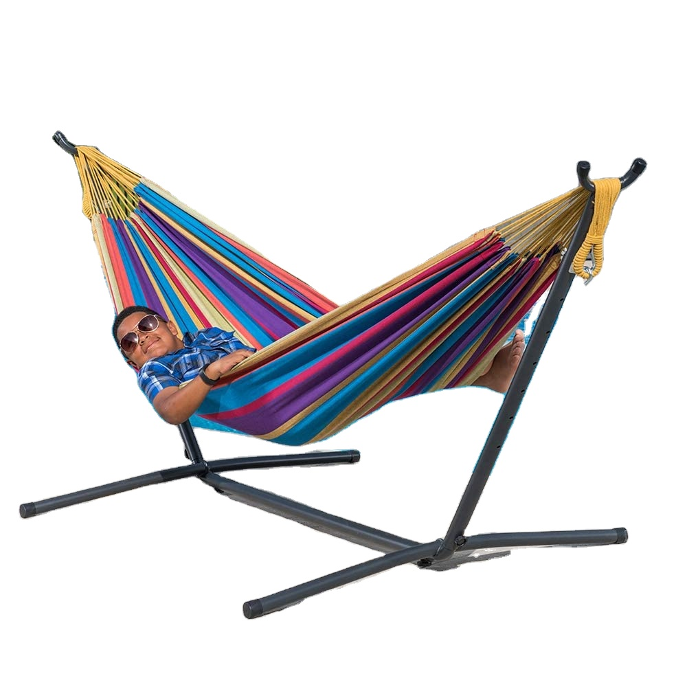 Hot Sale Portable Free Standing Hammock Chair Double Hammock Stand
