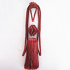2014 new crystal tassel tieback for curtain, modern red tie back tassel in tassel fringe