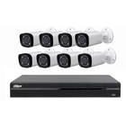 DAHUA BULLET IP CAMERA NVR4208-8P-4KS2 HFW4431R-Z POE Surveillance Equipment Video Set CCTV SYSTEM Kit