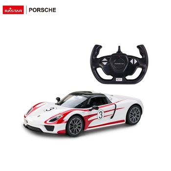 RASTAR 1:14 electric model Porsche race remote control car toy