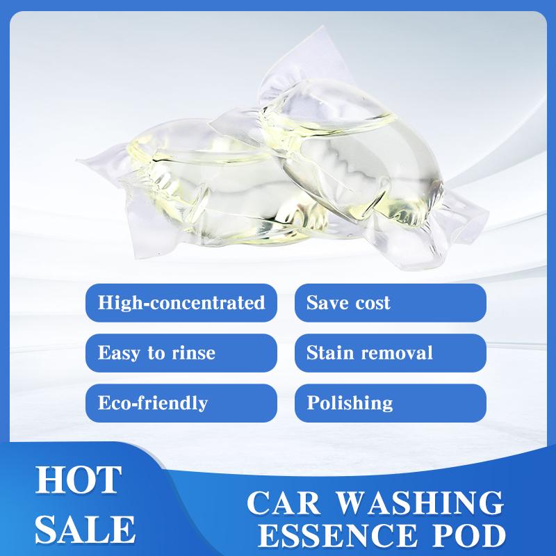 China Manufacturer Wholesale Portable Car Wash Washer Foam liquid capsule pods