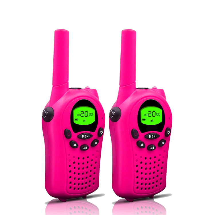 6Km Mini Two Way  Radio Children 0.5W Kids Walkie Talkie For Kids Toys