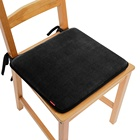 Comfortable Cool Machine Washable Chair Seat Cushion Dining Chair Cushions With Ties Set of 6