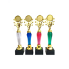 Professional factory made promotional gift souvenir sports 39cm gold plastic trophy