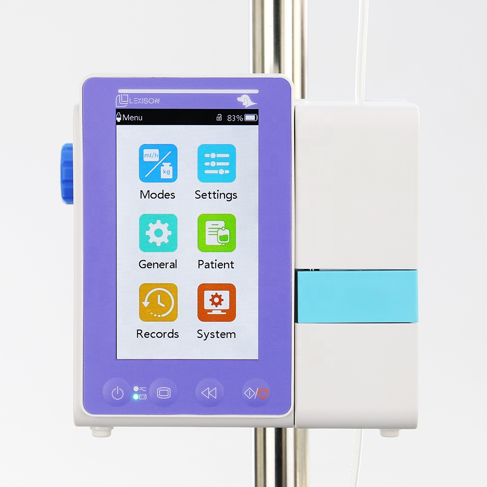 Veterinary Equipment: PRIP-E500V High Quality Touch Screen Veterinary use Infusion Pump