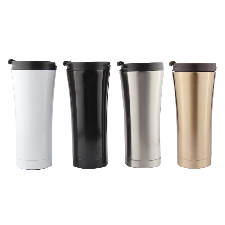 Wholesale Wedding Gift Tumbler Stainless Steel Double Walled Vacuum Travel Coffee Thermos <strong>Cup</strong> and Mug 400ml