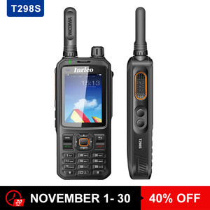Android Walkie Talkie GPS Wifi WCDMA Internet Two Way Ham IP Radio With SIM Card T298S