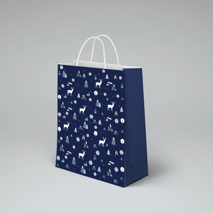 product-Dezheng-Wholesale Cheap Custom Design Shopping Paper Bags With Your Own Logo-img