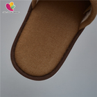 Terry Slippers Slipper Hotel Terry Slipper Brown Terry Towel Close Toe With Sponge Disposable Slippers For Hotels