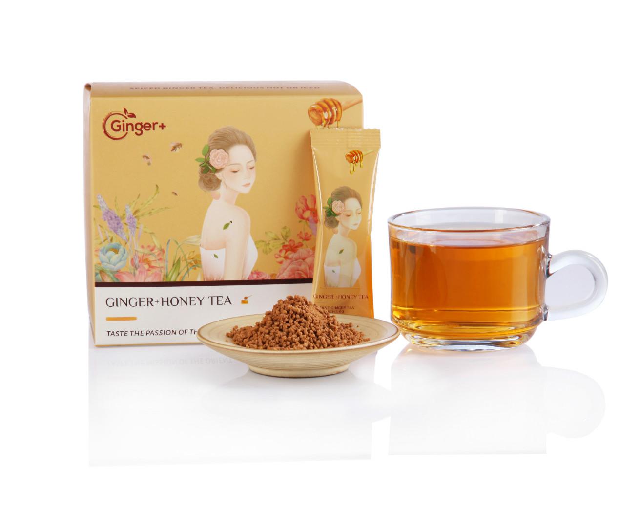 Instant Honey Ginger Tea Sachet Good for Health - 4uTea   4uTea.com